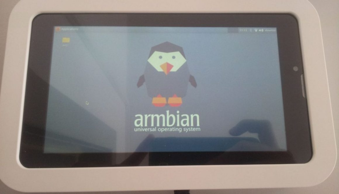 Linux Tablet with Armbian
